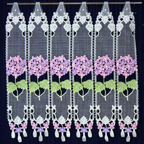 Hortensia Lace Cafe curtains