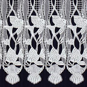 squirrel macrame ring lace curtains. Black Bedroom Furniture Sets. Home Design Ideas