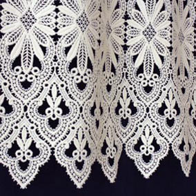 Tradition lace cafe curtain