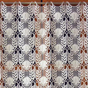 Tulipe lace cafe curtain
