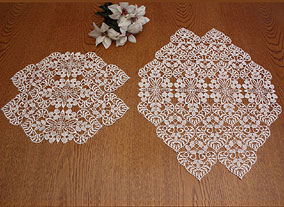 Collection Valentine doilies
