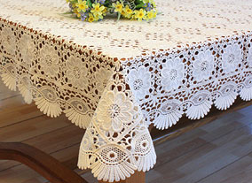 Chambord tablecloth