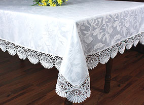 Tablecloth Coquilles