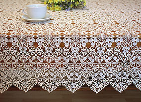 Valentine lace tablecloths
