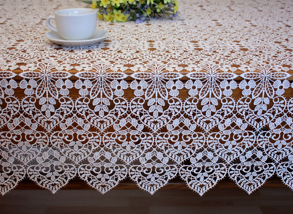 Lace Tablecloth U0026quot;Valentineu0026quot; ...