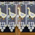 geese curtain 12 inc height