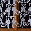 Bottom laura lace curtain
