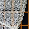 french lace curtain Valentine in natural