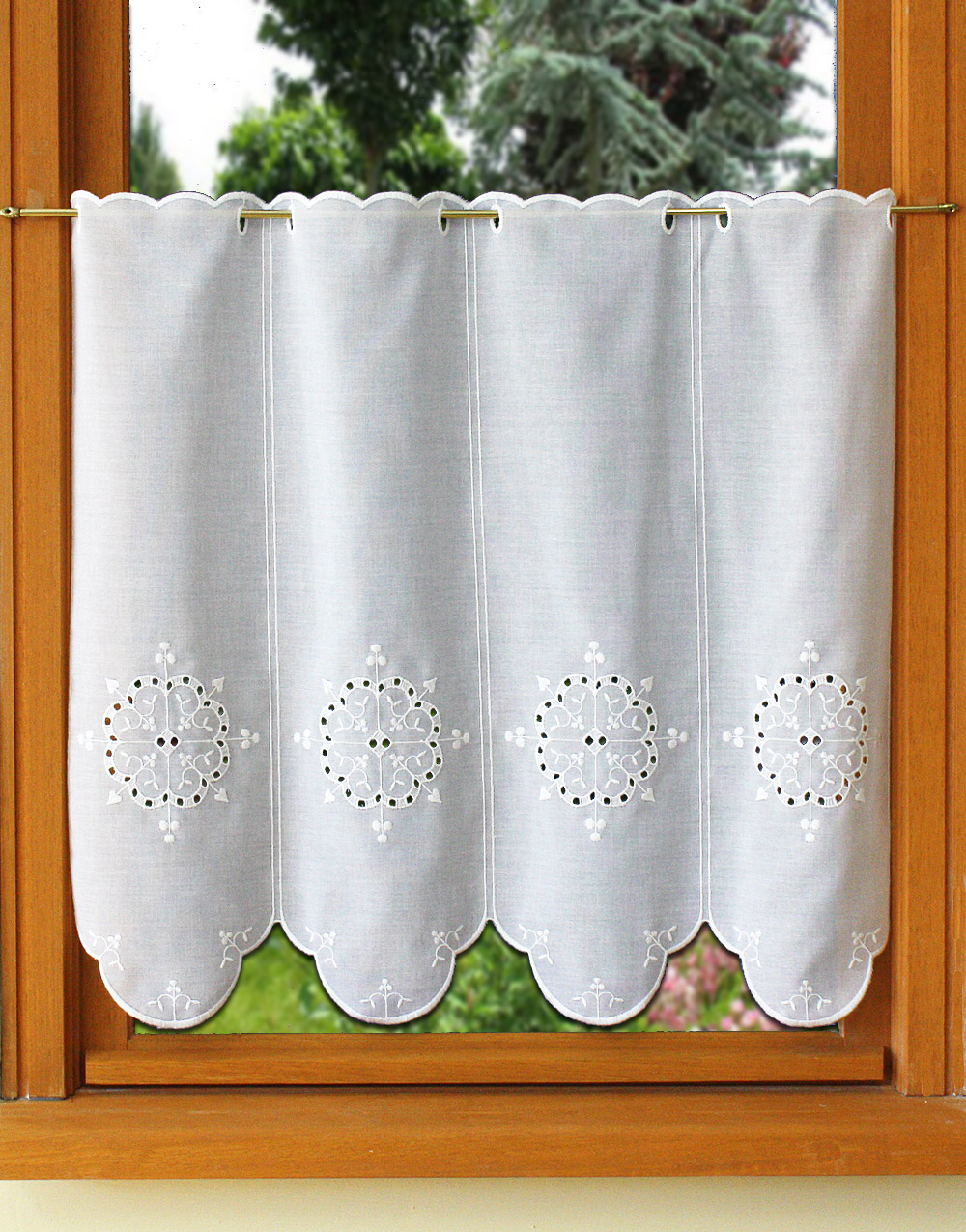 tier curtain in 22 inches height