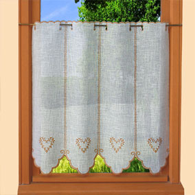 Champetre lace cafe curtain