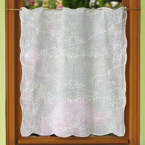 Eglantine lace curtain