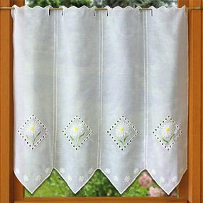 Daisy lace curtains