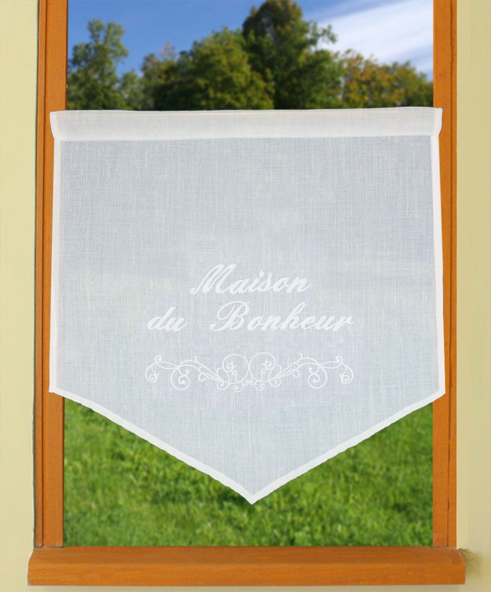 Customizable curtain in 24 inches height