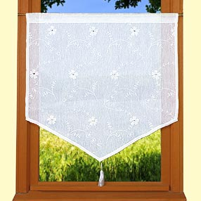 Verone pointed curtain