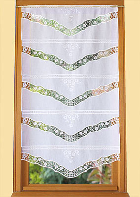 Venise lace curtain
