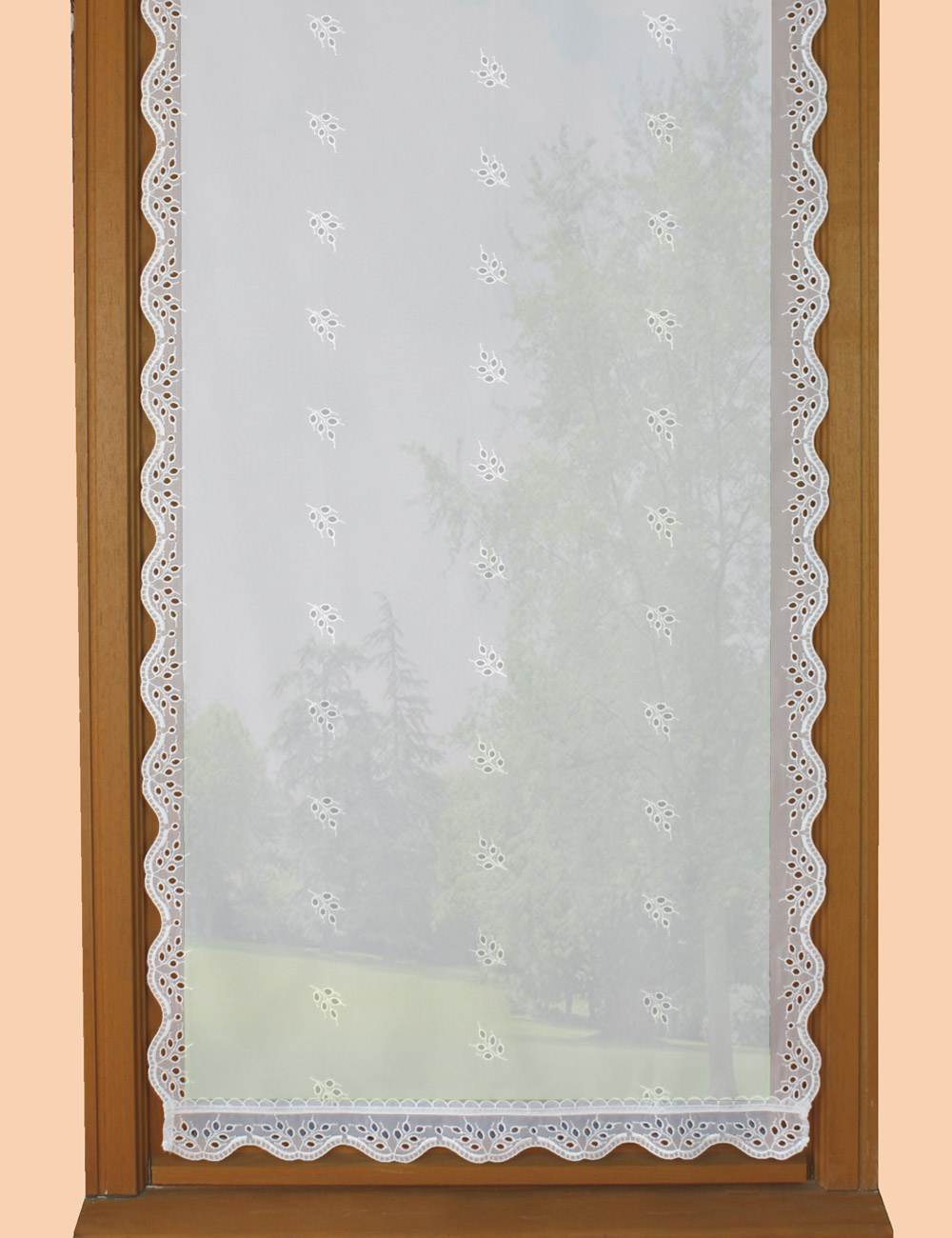 High rise Sheer curtain