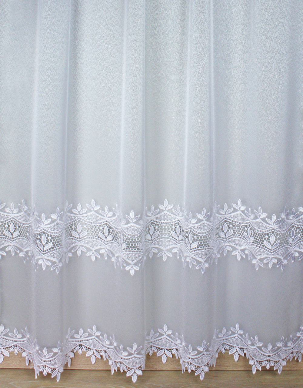 "White Sheer curtain ""Anna"""