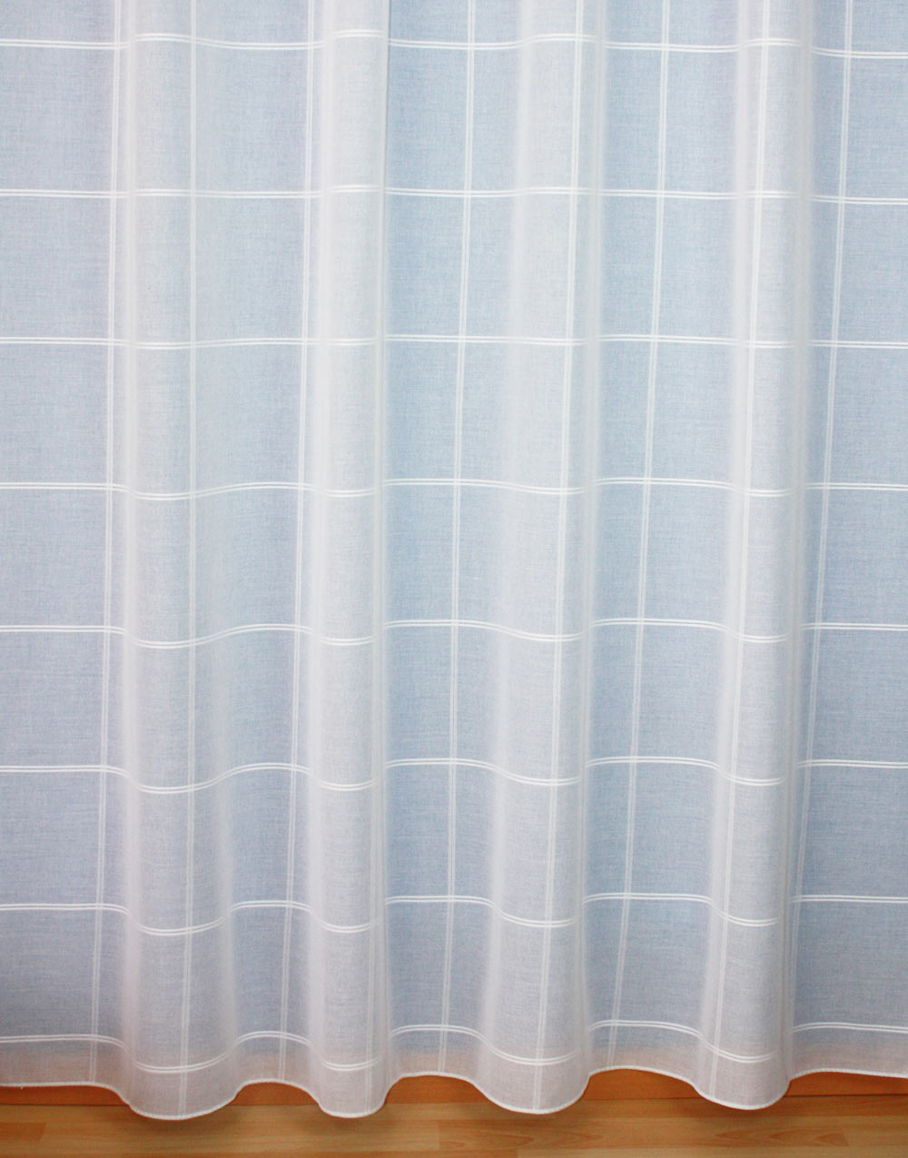 "Sheer curtain ""Carreau"""