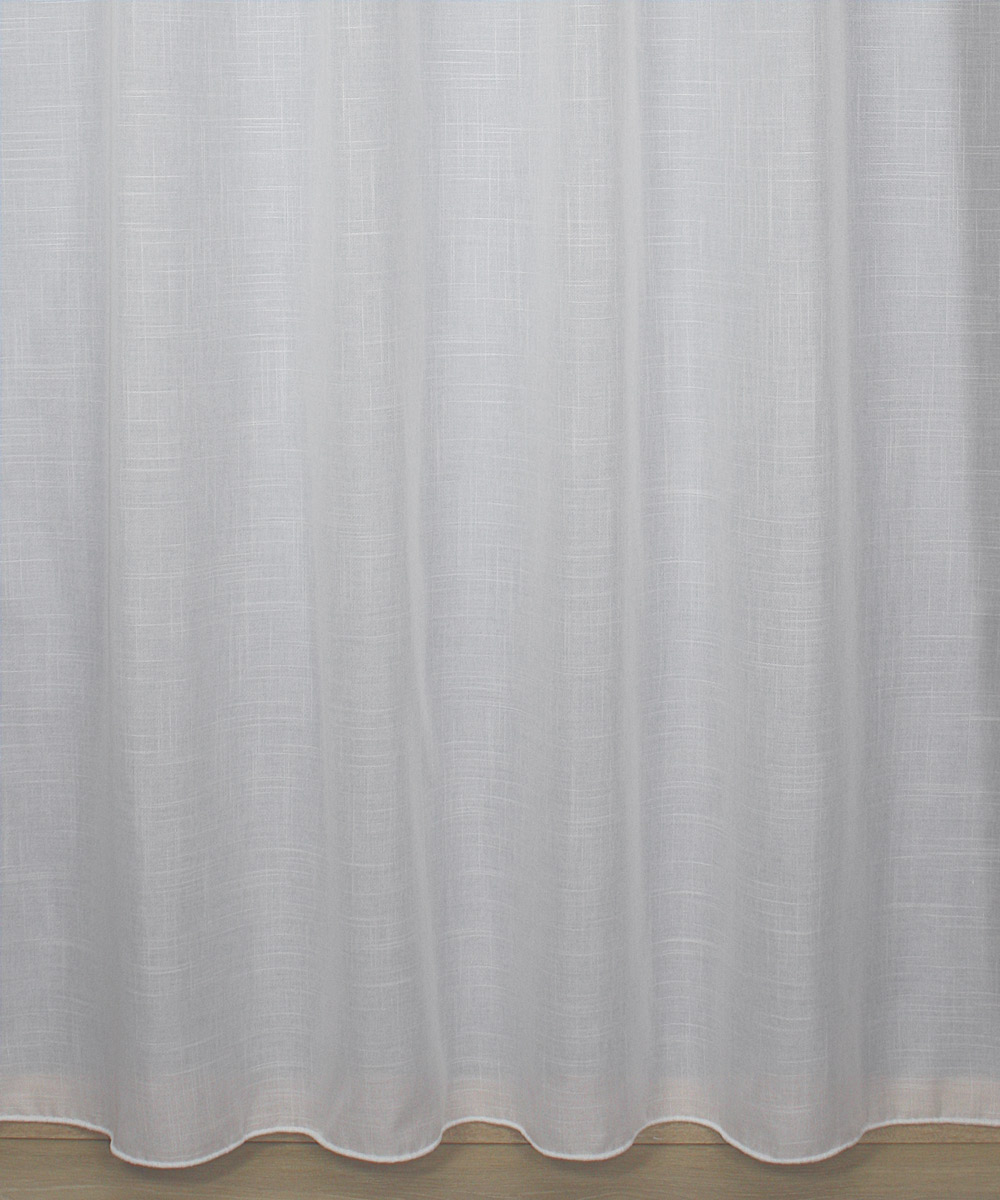 "ivory Sheer curtain ""Lin look"""
