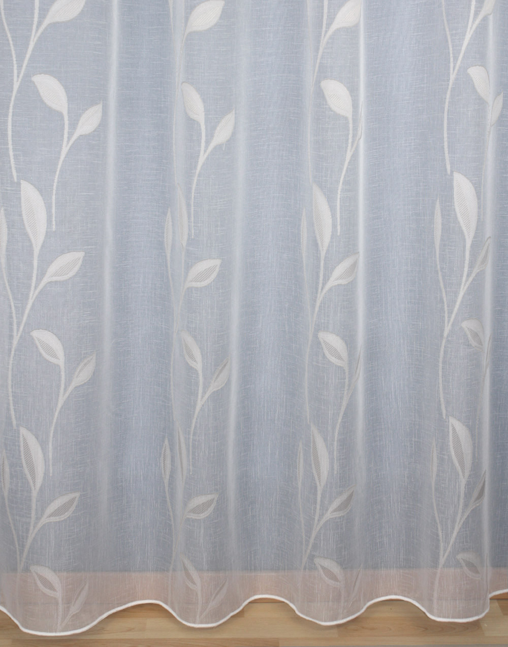 "Withe sheer curtain ""Iris"""