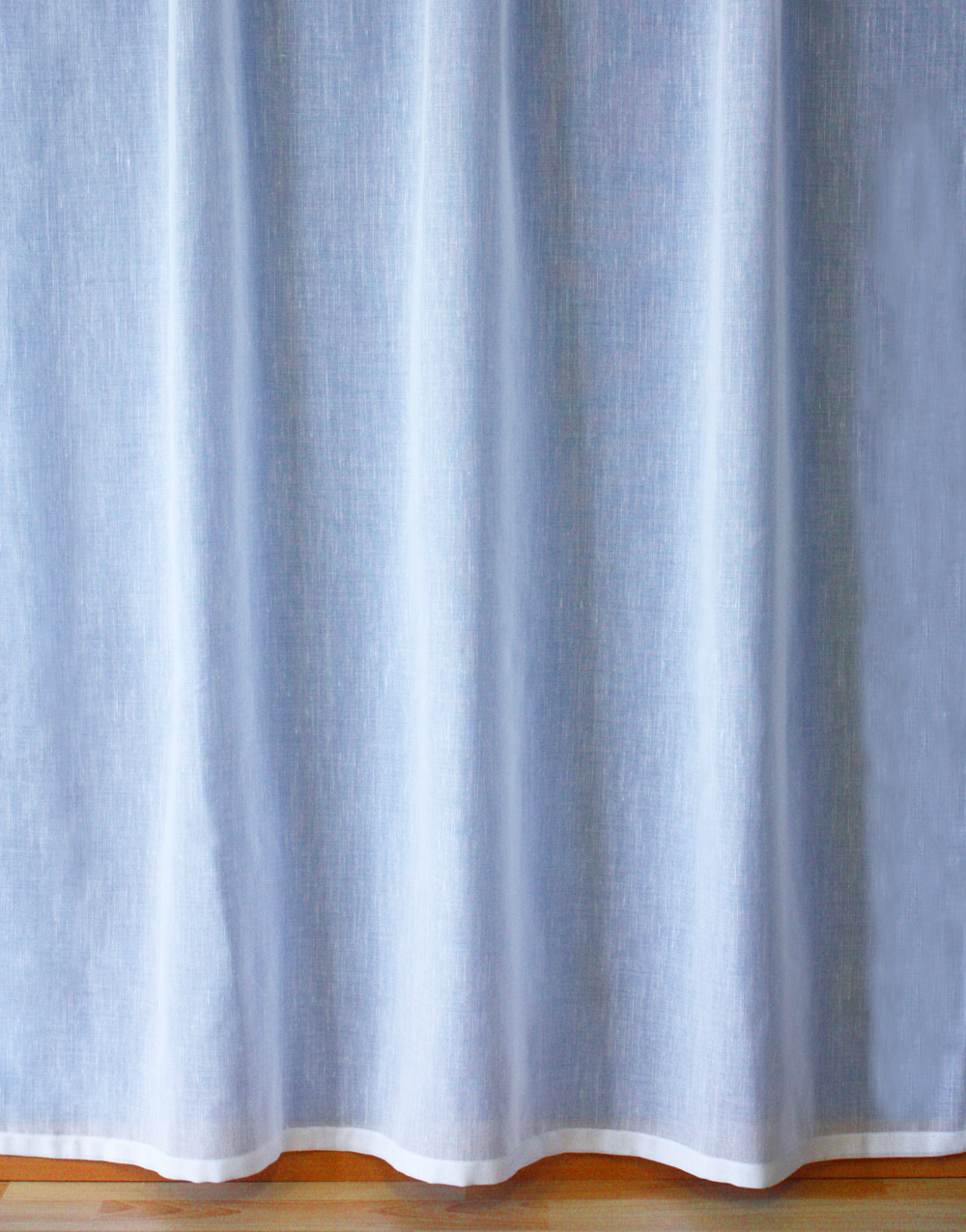 "White Sheer curtain ""Lin"""