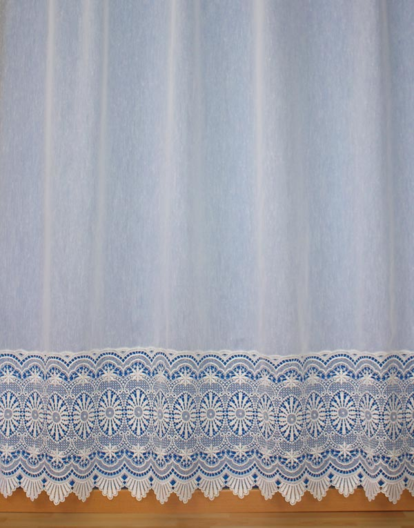 macrame lace panel curtain