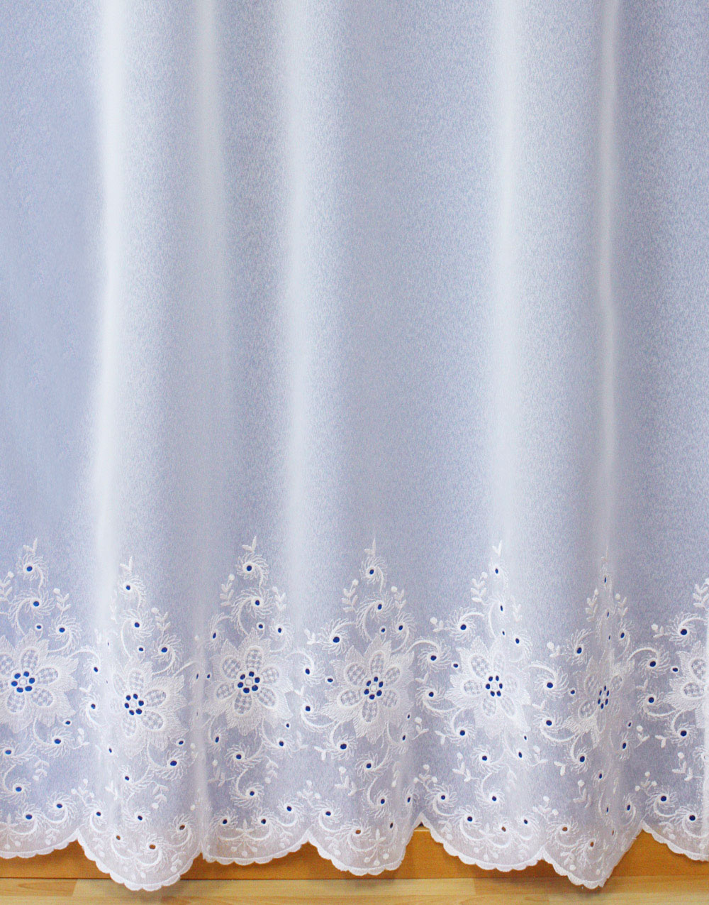 "White Sheer curtain ""Valerie"""