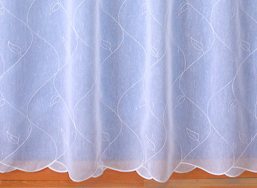 lace embroidered curtains