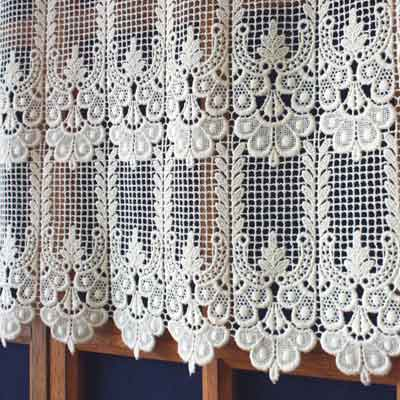 French Macrame Laace Curtain Annie