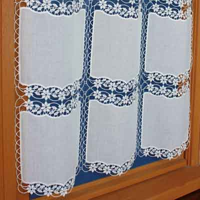 Lace kitchen curtain Eloise