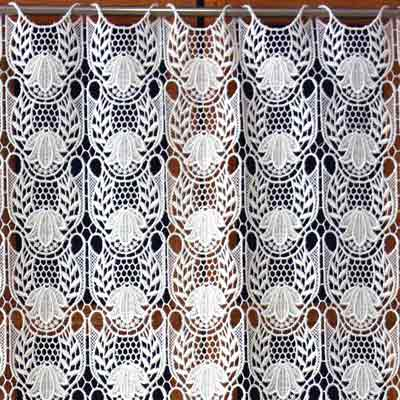 Heavy Lace cafe curtain
