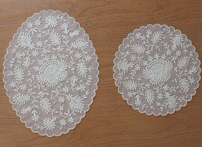 French macrame Lace doilies