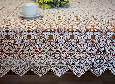 Fine Lace tablecloth Valentine