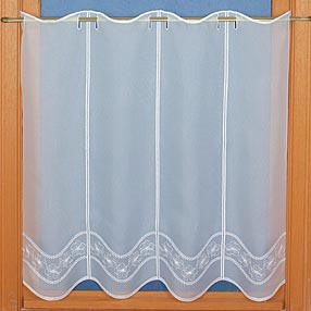 Bistro lace curtain