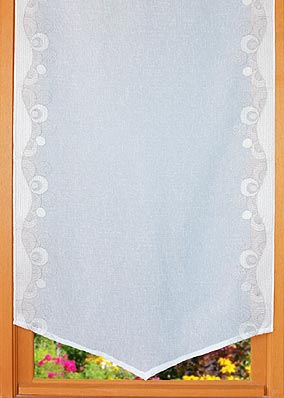 "Embroidered curtains ""Contemporain"""