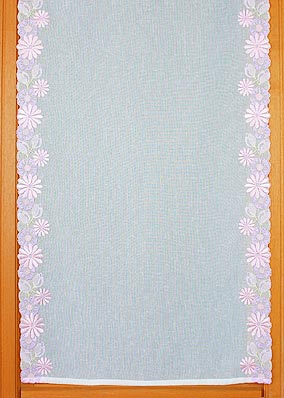 "Embroidered curtains ""Florida"""