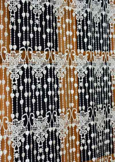 Light lace curtains