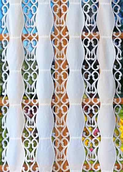 original macrame lace curtain
