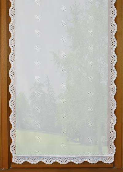 "Sheer lace curtains ""Amandine"""