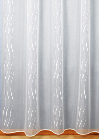 "Sheer lace curtains ""Amelie"" white"