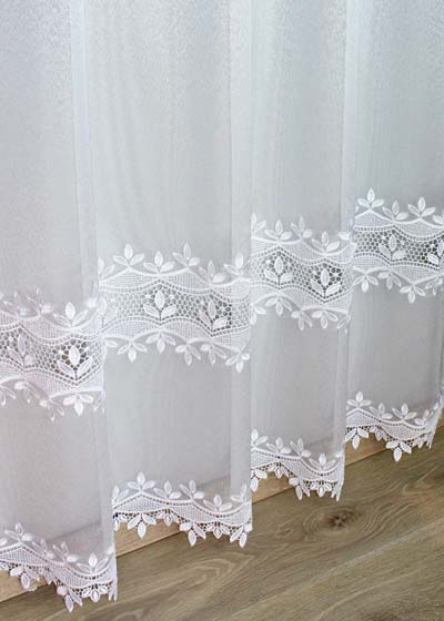 "Sheer lace curtains ""Anna"""