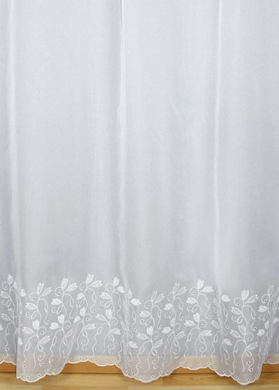 "Sheer lace curtains ""Elodie"""