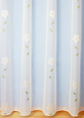 "Sheer curtains ""Romantique"""