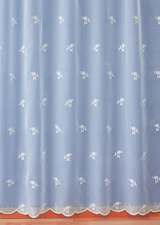 "Sheer lace curtains ""Semis"""