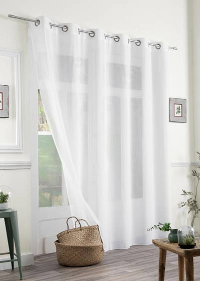 "Great height sheer curtains ""Grande Hauteur"""