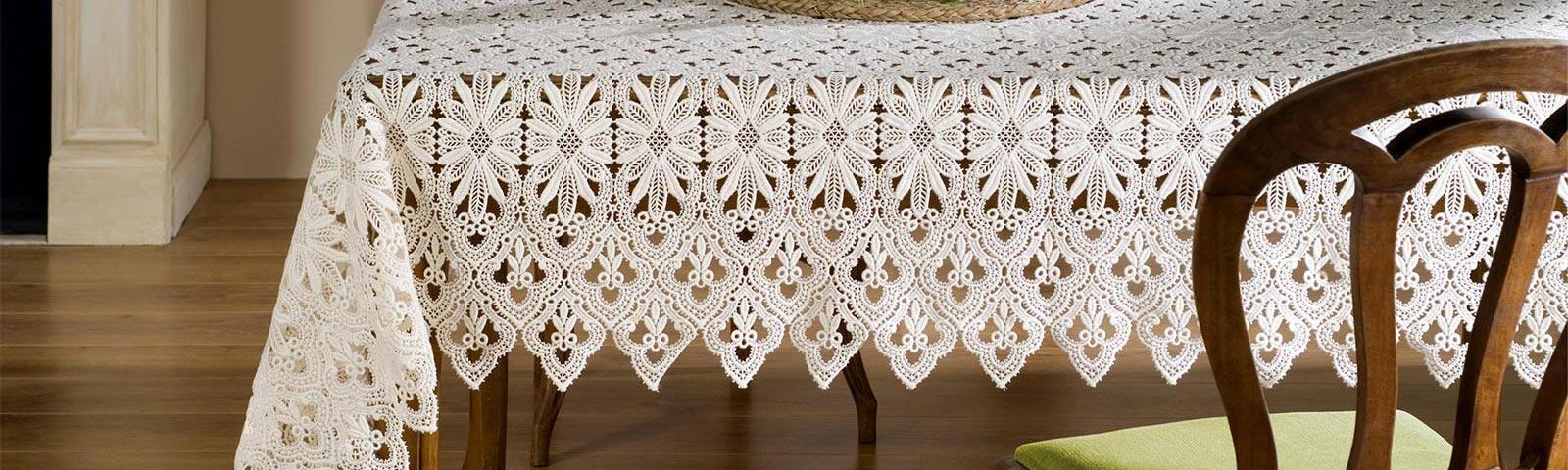 Macrame Lace Tablecloths
