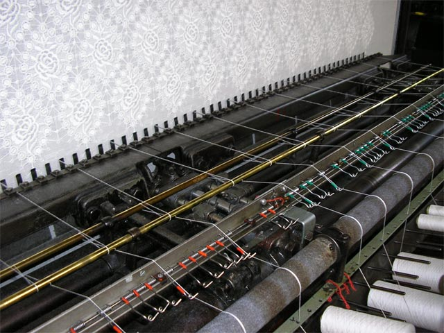 Embroidery production