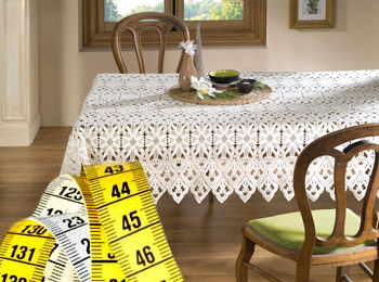 Table lace measuring guide, How to choose my color ?